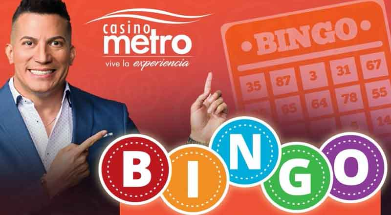 Bingo Virtual – Casino Metro – Animación Alex DJ